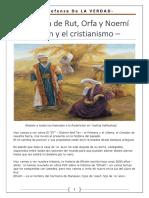 La Historia de Rut Orfha y Noemí- Efraim y El Cristianismo