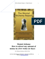Mental Alchemy How to Attract Any Amount of Money
