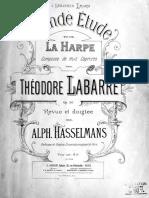 Théodore Labarre Grande Etude
