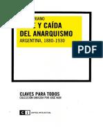 Auge y Caida Del Anarquismo Argentina 1880 1930 Juan Surianopdf
