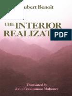Hubert Benoit - The Interior Realization