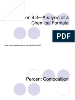 9.3—Analysis of a Chemical Formula