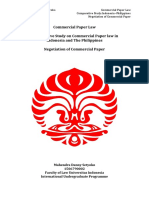 Commercial Paper Law
