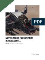 Master en Videojuegos