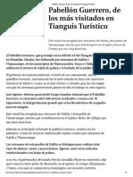 16-04-2018 Pabellón Guerrero, De Los Más Visitados en Tianguis Turístico.
