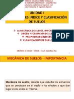 Unidad I-propiedades Indice y Clasificacion