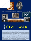 The History of the United States Part 4 (The Civil War)