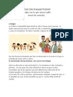 """"""" Por Uno Pagan Todos"""" (1)"""
