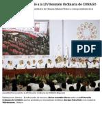 22-05-2018 Astudillo Flores Asistió a La LIV Reunión Ordinaria de CONAGO.