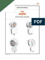 Operating-Instruction Nivel de Aceite