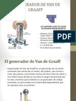 El Generador de Van de Graaff Fisica II Jose Navas