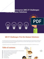 Mid Sized Enterprise IT Challenges Five No Brainer Solutions eBook