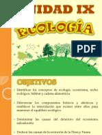Unidad IX Ecología