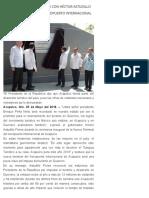 25-05-2018 Pone en Marcha EPN Junto Con Héctor Astudillo La Nueva Terminal Del Aeropuerto Internacional de Acapulco.