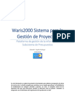 Waris2000 - Subsistema de Presupuestos