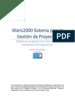 Waris2000 - Subsistema de Programación