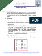 Informe Suelos de Fundacion y Subrasante