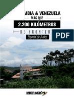Los detalles de la migración a Colombia, en tres años de crisis en Venezuela (Infografía)