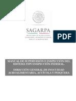 Manual de Supervison Del Sistema Tipo Inspeccion Federal