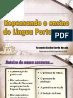 Por Uma Nova Abordagem Do Ensino de Língua Portuguesa