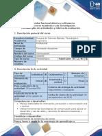 Guía de Actividades y Rúbrica de Evaluación - Actividad 0 - Reconocer Los Contenidos y Características Del Curso