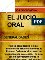 El Juicio Oral