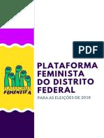 Programa Plataforma Feminista DF 2018