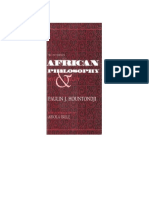 [African Systems of Thought] Paulin J. Hountondji - African Philosophy_ Myth and Reality (1996, Indiana University Press)