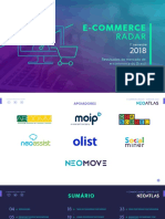 Radar E-commerce - 1º Semestre 2018