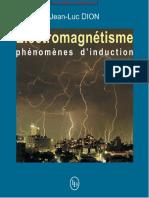 _lectromagn_tisme, Ph_nom_nes d'Induction - Jean-Luc Dion