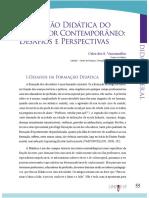 Texto aula de Docência PGCULT Formação Didática do Educador Contemporâneo Profa Dra Thelma Chahini 09-06-18.pdf