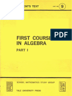 First Course in Algebra-Part 1 - Several Authors.pdf