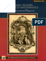 Using History to Teach Mathemat - Victor J. Katz.pdf