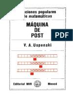 Maquina de Post - V.a. Uspenski