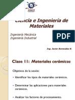 11. Materiales cerámicos