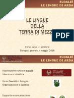 Linguistica - Corso Base Lezione 2