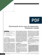 Determinación de los costos de importación- Tratamiento contable.pdf