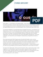 O QUE É TRANSTORNO BIPOLAR? | Unipsico Ribeirão Preto.pdf