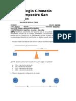 TALLER DE REPASO FISICA 10°