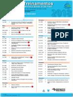 Agenda de Cursos CETESB - 2018
