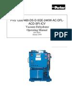 Operating Manual Parker Filtration Unit