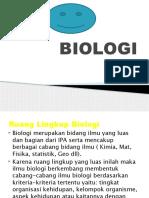 BIOLOGI persentase