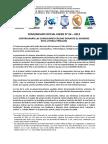 COMUNICADO OFICIAL ENFEN EXTRAORDINARIO N° 01 - 2012