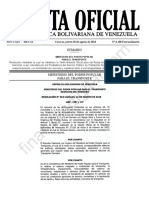 Gaceta Oficial Extraordinaria 6400