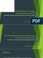 Entrelazando Arquitectura y Ecología- Una Perspectiva Teórica