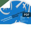 Unidad 1_ Libro blanco sobre  la educación de la sexualidad