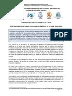 COMUNICADO OFICIAL ENFEN N° 04 - 2013