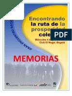 Memorias -rutaprosperidadcolectiva