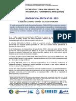 COMUNICADO OFICIAL ENFEN N° 07 - 2013