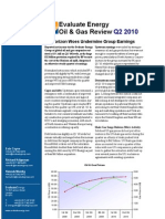 Evaluate Energy Oil & Gas Review - Second Quarter 2010